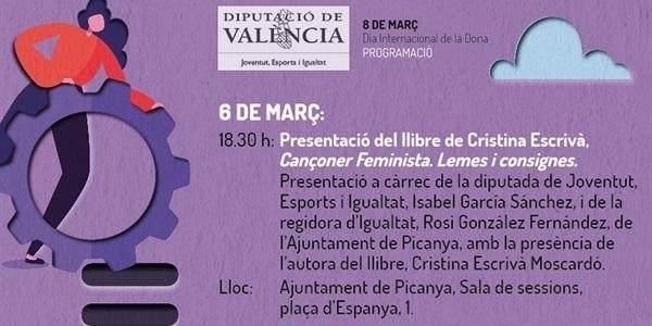 """Presentació del llibre """"Cançoner feminista. Lemes i consignes"""""""
