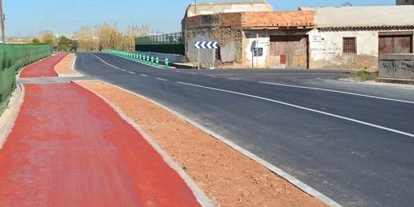 Obert al trànsit el nou carril bici cap a Xirivella