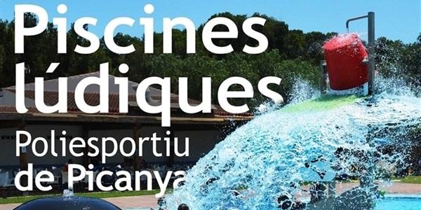 El dissabte 1 de juny obrin les piscines lúdiques del Poliesportiu