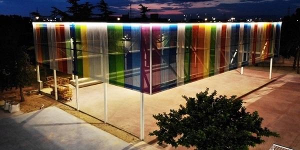 En funcionament la nova il·luminació del pati de l'escola Ausiàs March