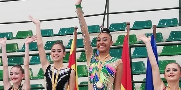 La rítmica picanyera arriba al campionat d'Espanya