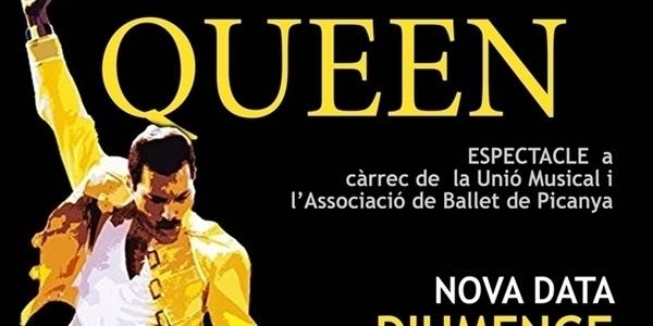 """L'especacle """"Queen"""" es trasllada al diumenge 14 de juliol a les 22.00h"""