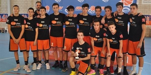 Els júniors del Picanya Bàsquet obrin la temporada amb el subcampionat de la Lliga Valenciana