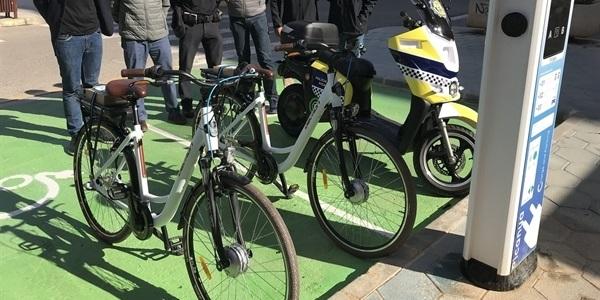 Moto i bicicletes elèctriques per als serveis municipals