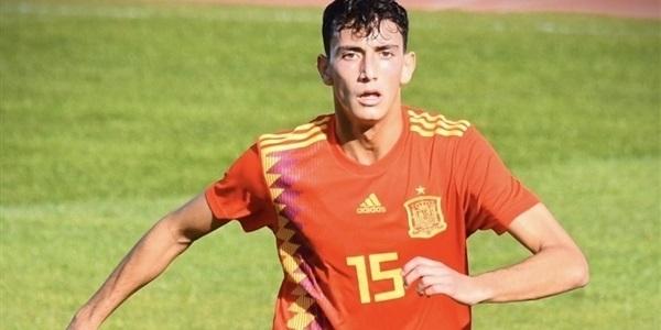 El futbolista picanyer Rubén Iranzo debuta amb la selecció espanyola U18