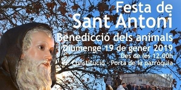 Festa de Sant Antoni el 19 de gener