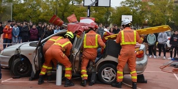 Campanya de prevenció dels accidents de trànsit entre l'alumnat de l'IES Enric Valor