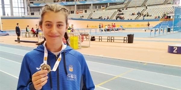 L'atleta Emma Jiménez suma el títol de campiona autonòmica
