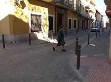 Millora d'itineraris per a vianants en vies urbanes Carrer Sant Josep