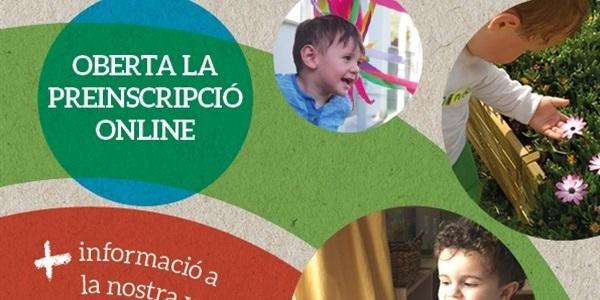 Preinscripció totalment on-line per a l'escoleta infantil