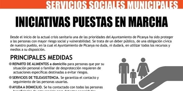 Diferents iniciatives en marxa des dels Serveis Socials Municipals