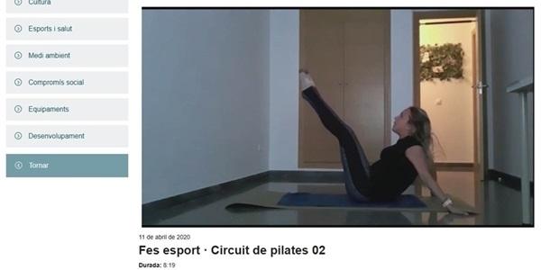 Més vídeos d'activitat física a PicanyaTV