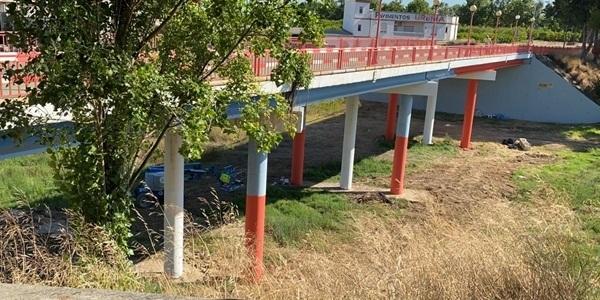 Arranquen els treballs de pintura de ponts i passarel·les