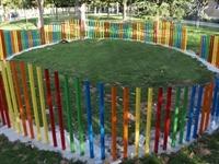 Instal·lació de paviment de seguretat sota els Jocs Infantils dels parcs municipals 13