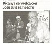 Picanya se vuelca con José Luis Sampedro