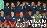 Presentació CDJ Picanya 2012/2013