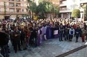 Concentració i acte homenatge a les víctimes de la violència de gènere PB234332