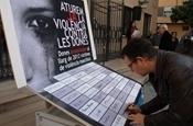Concentració i acte homenatge a les víctimes de la violència de gènere PB234368